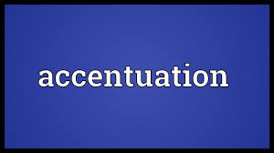 Accentuation