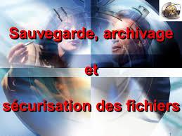 Archivage-Sauvegarde